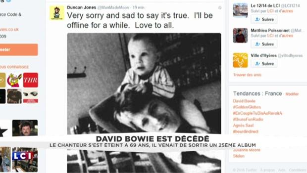 L'hommage émouvant du fils de David Bowie sur Twitter