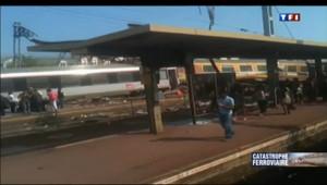 Le 20 heures du 12 juillet 2013 : Un train d�ille �r�gny : retour sur la catastrophe - 2691.065