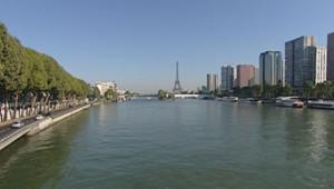 Le quartier Beaugrenelle sur la rive gauche de la Seine.