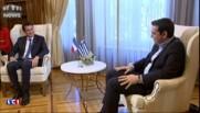 Manuel Valls, en déplacement à Athènes, a rencontré Alexis Tsipras