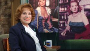 Maureen O'Hara sur le plateau de l'émission Good Morning America en mars 2004
