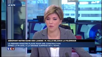 Notre-Dame-des-Landes : Valls toujours favorable à l'aéroport