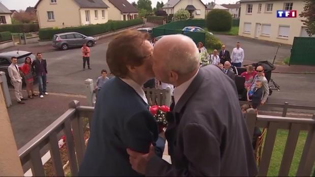 Un couple de nonagénaires renouvelle ses vœux après 70 ans de mariage