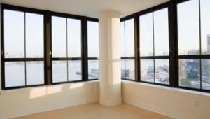 Vacant apartment, New York City, New York, USA