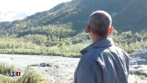 En Alaska, Obama assure le spectacle