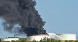 Le site pétrochimique LyondellBasell à Berre-l'Etang.