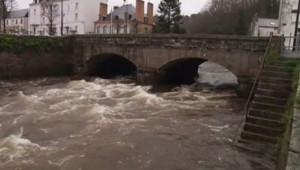 rivière Laïta quimperlé inondation