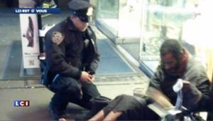 Un policier new yorkais, héros du web malgré lui