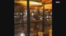 Une vidéo amateur montre les braqueurs s'enfuir après avoir attaqué une boutique Cartier à Paris, le 25 novembre.