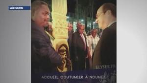 Vine de François Hollande en Nouvelle-Calédonie