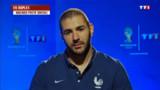 """Mondial 2014. Benzema : """"Zidane est fier de moi"""""""