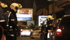 Des contrôles de police. (Illustration)