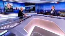 Invitée du 20h de TF1, Marine Le Pen cite le philosophe Raymond Aron