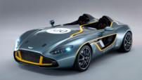 L'Aston Martin CC100 Speedster, concept-car célébrant le centenaire de la marque, révélé le 19 mai 2013.