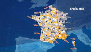Les prévisions météo du 17 décembre 2012
