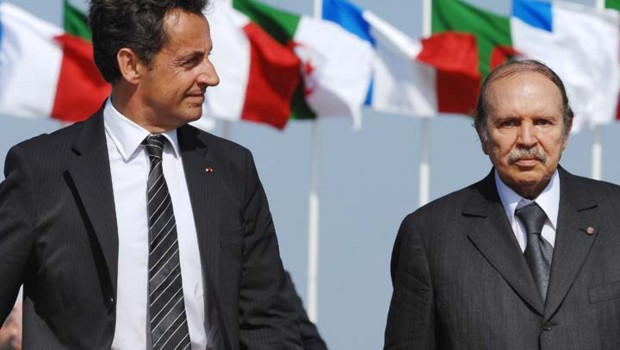Sarkozy  Algérie