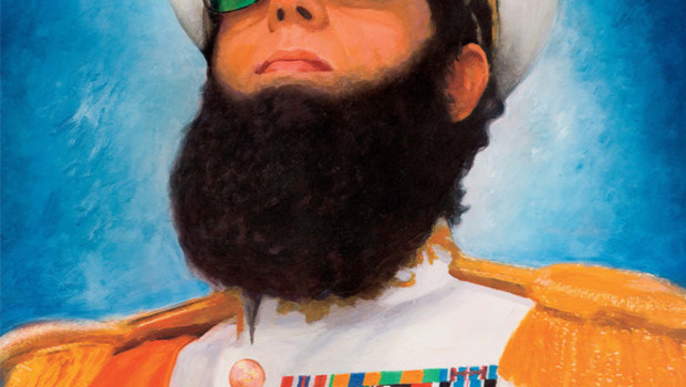 The Dictator de Larry Charles - affiche teaser