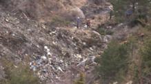 Zone du crash de Germanwings dans les Alpes, 24/3/15
