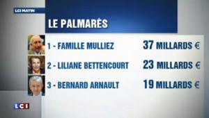 3 premières fortunes de France