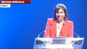 Anne Hidalgo à paris le 28 mai 2013