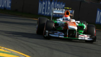 F1 GP Australie 2013 Essais - Sutil Force India