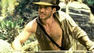 Harrison Ford dans Indiana Jones et le Temple maudit