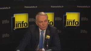 Jean-Marc Ayrault sur France Info.