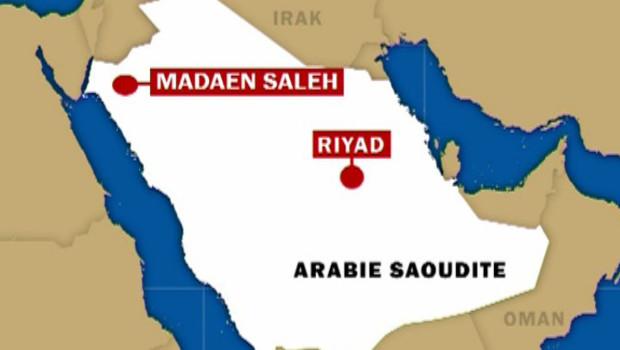 arabie saoudite carte ryad
