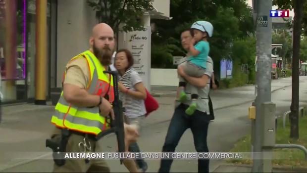 Fusillade à Munich : la police demande à la population de rester cloîtrée chez elle