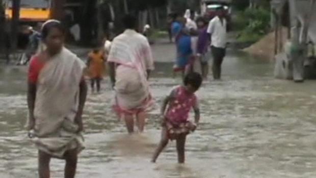 Inondations dans le nord-est de l'Inde (septembre 2012)