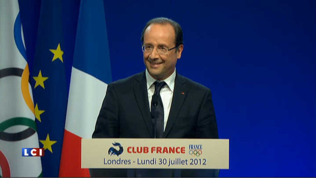JO 2012 : quand Hollande reparle du tapis rouge