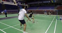 Le 20 heures du 22 octobre 2014 : Le Badminton, un sport mixte - 1789.992