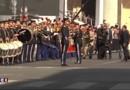 Panthéonisation : l'arrivée de François Hollande marquée par la Marseillaise