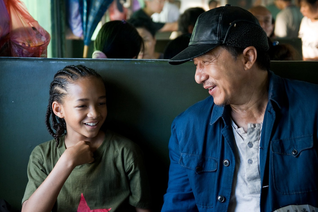 The Karate Kid de Harald Zwart, Jackie Chan et Jaden Smith