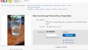 Capture d'écran Ebay
