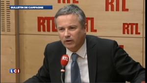 Dupont-Aignan critique à l'égard des propos de Fillon