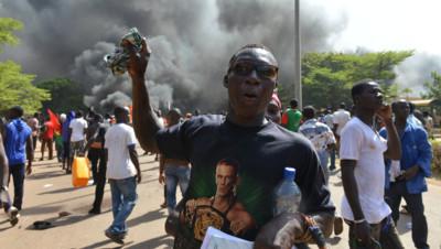 Emeutes au Burkina Faso, 30/10/14