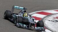 F1 GP Chine 2013 Essais - Rosberg Mercedes