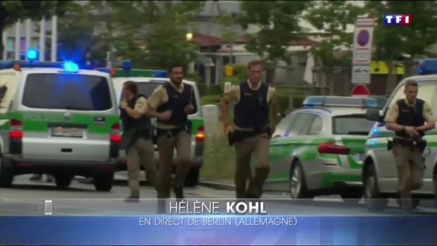 Fusillade à Munich : un attentat selon la police