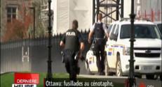 Le 20 heures du 22 octobre 2014 : Fusillades au Canada : nouvelles images au Parlement, la confusion des forces de l'ordre - 2005.262