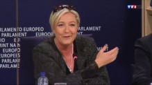 Le 20 heures du 28 mai 2014 : Marine Le Pen en qu� de nouveaux alli��ruxelles - 813.0574649047851