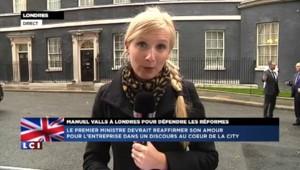 """Manuel Valls à Londres pour en finir avec le """"French bashing"""""""