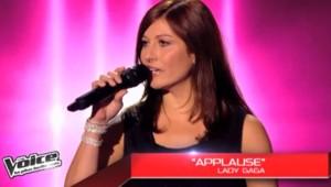 the voice sophie delmas lady gaga