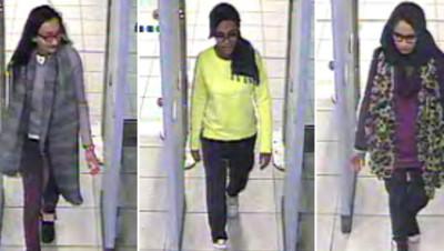 Trois adolescentes britanniques ont quitté leur pays en février pour rejoindre la Syrie et faire le jihad.