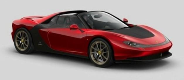 Images illustrant la future Sergio Pininfarina basée su