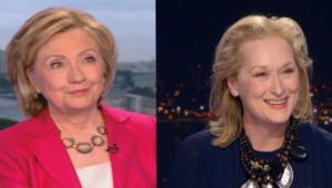 Hillary Clinton et Meryl Streep