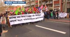 Le 13 heures du 22 novembre 2014 : Nouveau - Rencontre entre Hollande et Aubry en marge de la Coupe Davis - 434.366