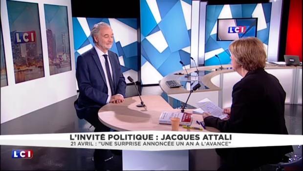 """Le FN au 2nd tour de la présidentielle 2017 ? """"Une surprise annoncée un an à l'avance"""" pour Attali"""