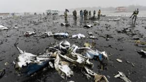 Russie : crash du Boeing de la FlyDubai à Rostov-sur-le-Don, 19/3/16