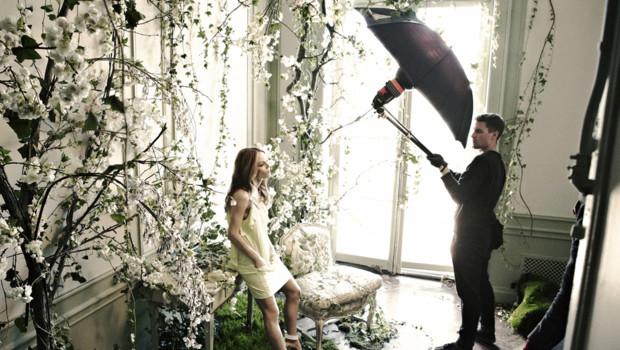 Vanessa Paradis, égérie pour H&M.